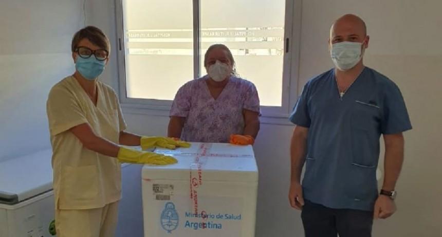 El Hospital Iturraspe recibió la segunda partida de la primera dosis de la vacuna Sputnik V