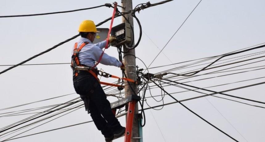 Anuncian corte de luz en barrio Roca
