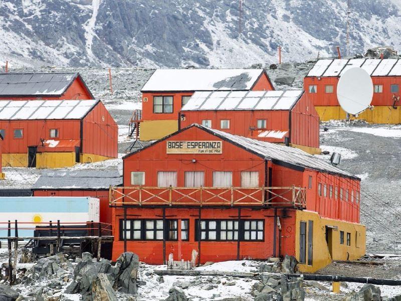 Récord de temperatura en la Antártida: 18,3 grados en la base Esperanza