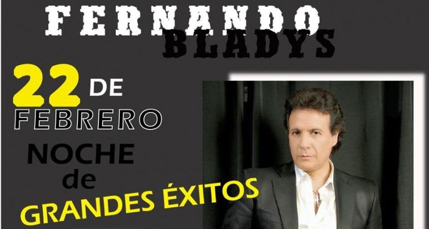 Fernando Bladys en el Gigante de Bomberos