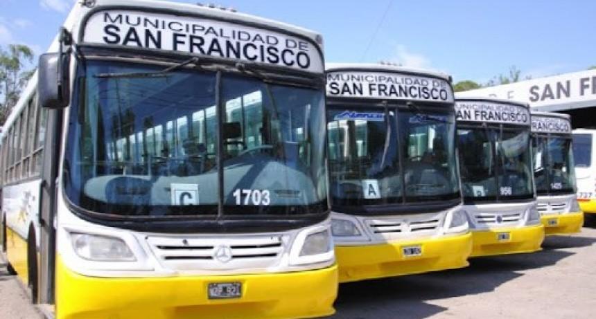 Transporte urbano de pasajeros comunicado