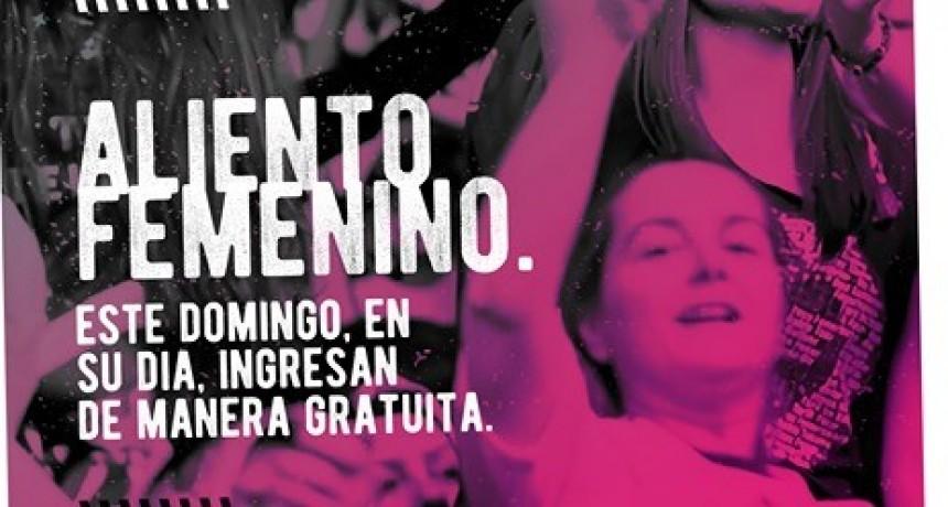 Las mujeres entrarán gratis al partido entre Sportivo Belgrano y Crucero del Norte