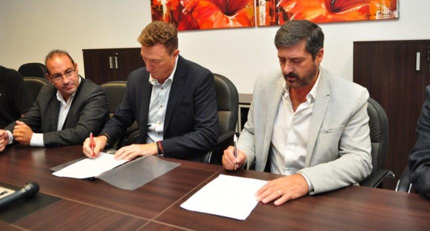 Se firmó convenio para la construcción de un centro tecnológico