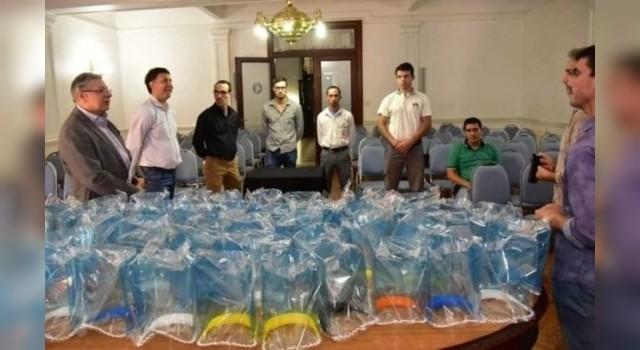 Escuelas técnicas entregaron más de 11 mil máscaras de protección
