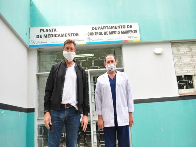 La Planta Elaboradora producirá 50 mil comprimidos de paracetamol