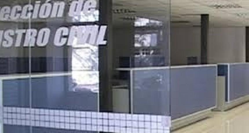 Hasta el 12 de abril el Registro Civil continuará con guardias pasivas