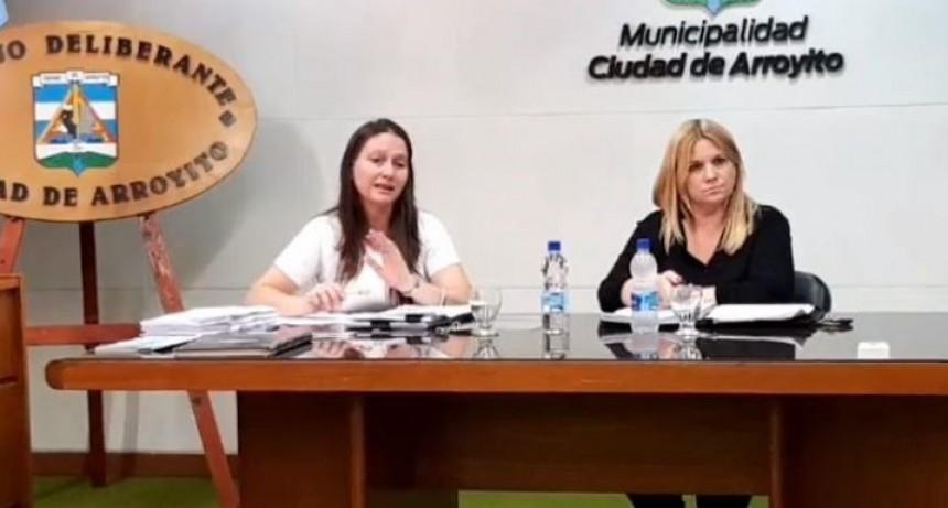 El Concejo Deliberante de Arroyito sesionó de manera virtual por primera vez en su historia
