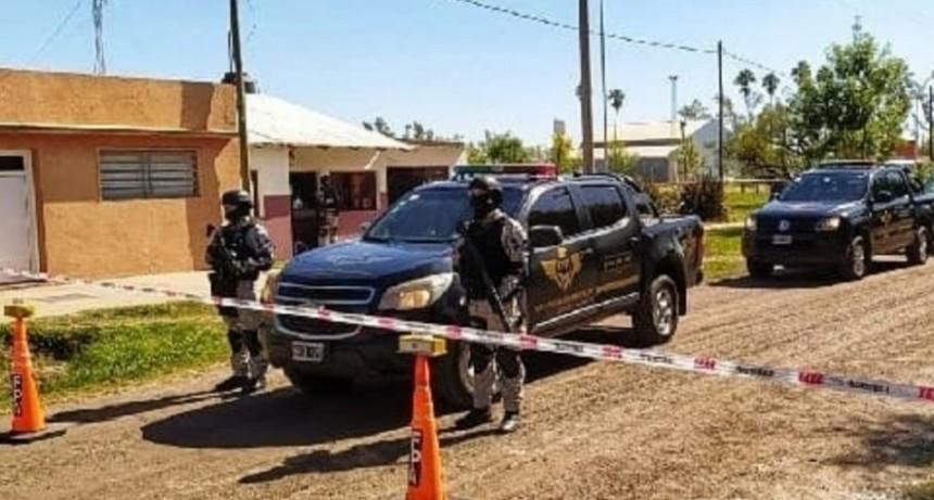 Allanamiento: FPA incautó estupefacientes en Frontera