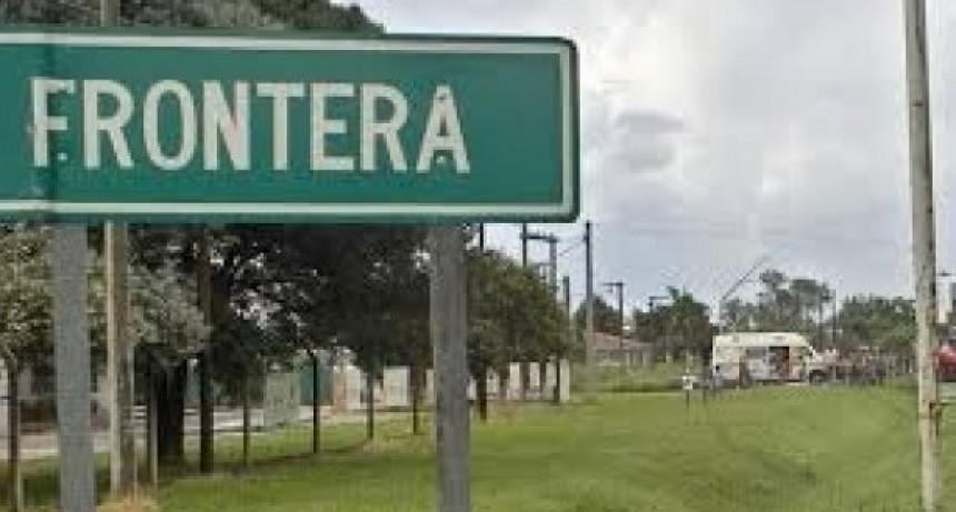 Frontera: chocaron una moto y una camioneta, hay un joven con lesiones graves