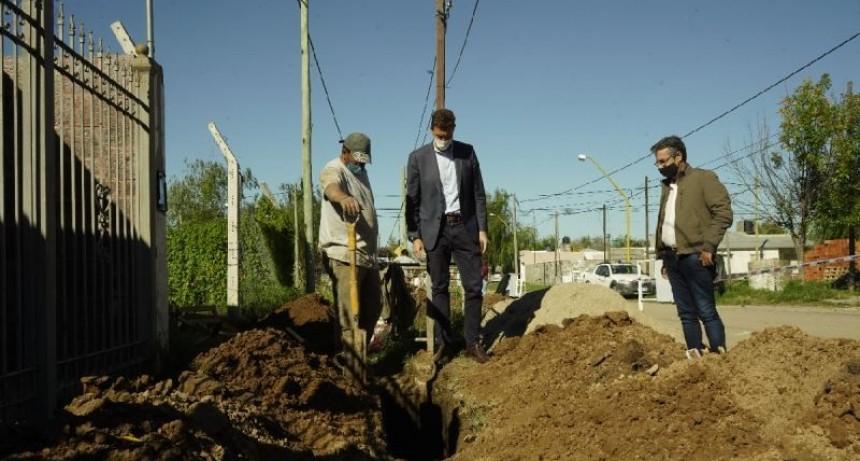 Cloacas: la obra ya está en marcha en barrio La Milka