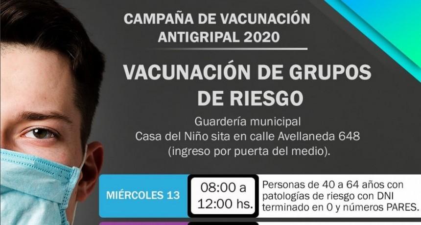 Retoman la vacunación antigripal para grupos de riesgo