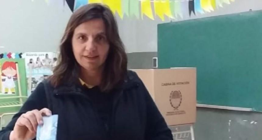 Jorgelina Sicardi, reelecta en Josefina.