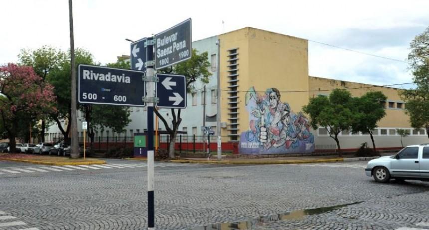 Colocarán el semáforo en Sáenz Peña y Rivadavia