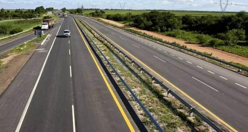 Nación asegura que aceleran las obras en Autovía 19 y Ruta 158