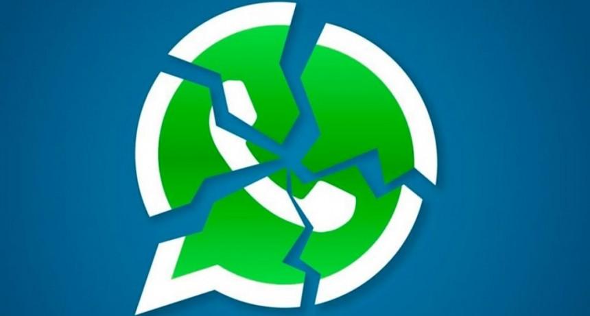 Reportan problemas para descargar los audios, fotos y videos en WhatsApp