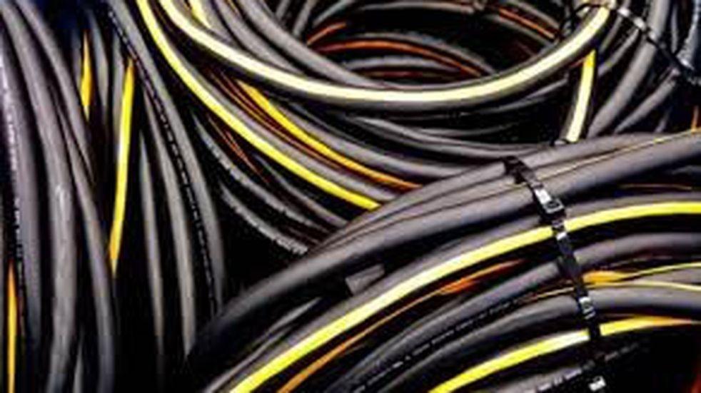 Recuperaron cables de líneas telefónicas en allanamientos