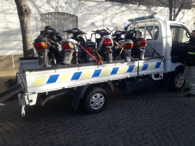 Nuevos controles de tránsito: secuestraron 34 motos