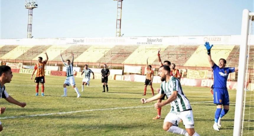 Sportivo reaccionó y se trajo un punto de Corrientes