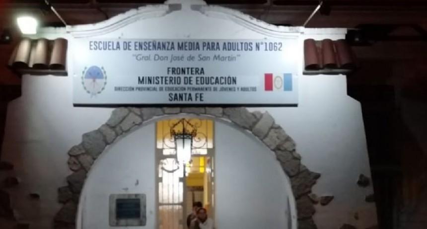 Frontera: ingresó armado a una escuela y disparó.