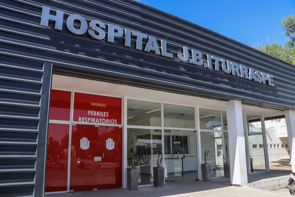 Fallecieron dos hombres diagnosticados con covid en el Hospital Iturraspe
