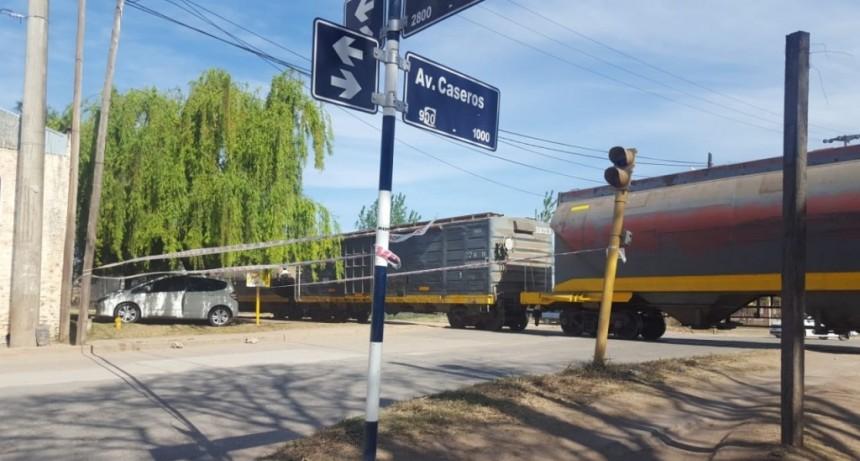 Descarrilló tren en nuestra ciudad